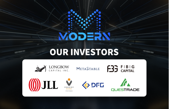 Layout blockchain 5G field, MODERN blockchain exceeded the completion of  million private equity financing